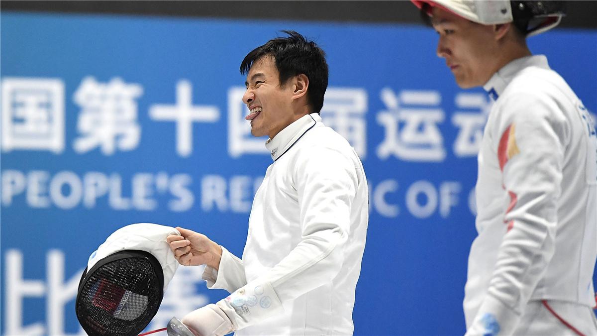 全運會-擊劍男子重劍團體賽:聯合隊奪冠