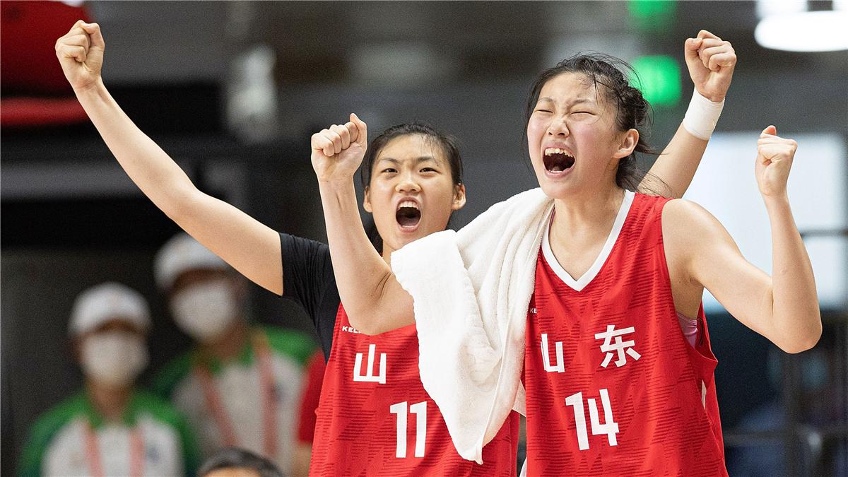 全運會-五人制女子19歲以下組銅牌賽:四川勝山東