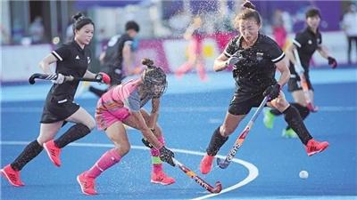 聯合隊、四川隊闖進十四運會曲棍球女子決賽