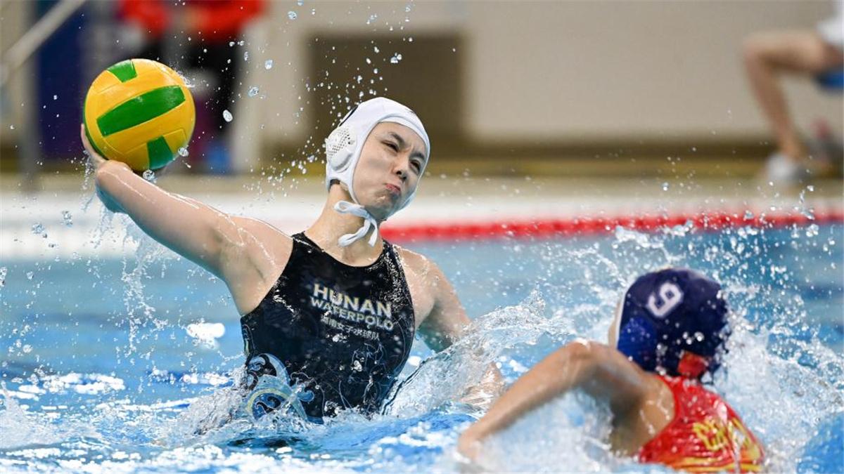 全運會-水球女子決賽:聯合隊奪冠