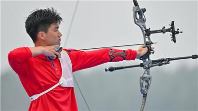 男子射箭個人賽魏紹軒奪冠