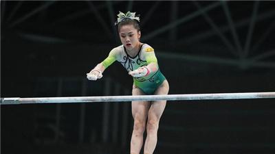 體操女子個人全能:奧運候補韋筱圓奪冠