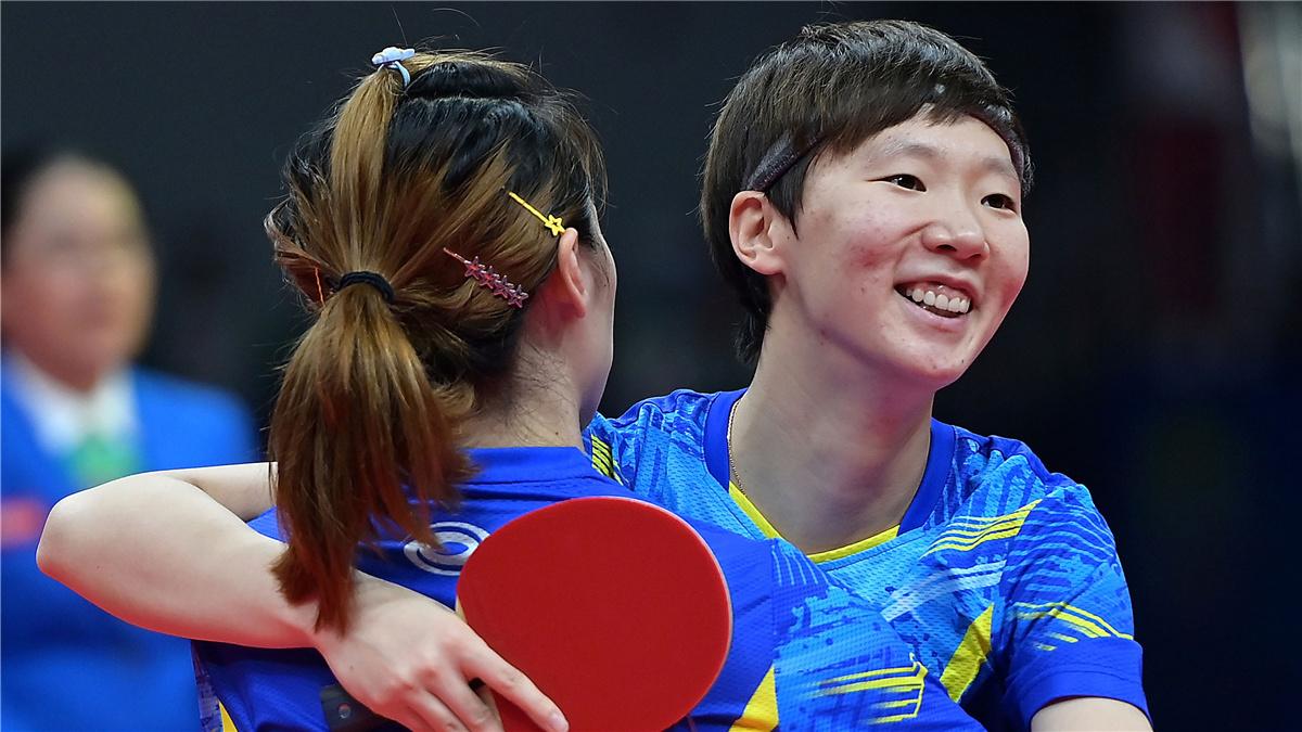 全運會-乒乓球女子雙打:王曼昱/車曉曦奪冠