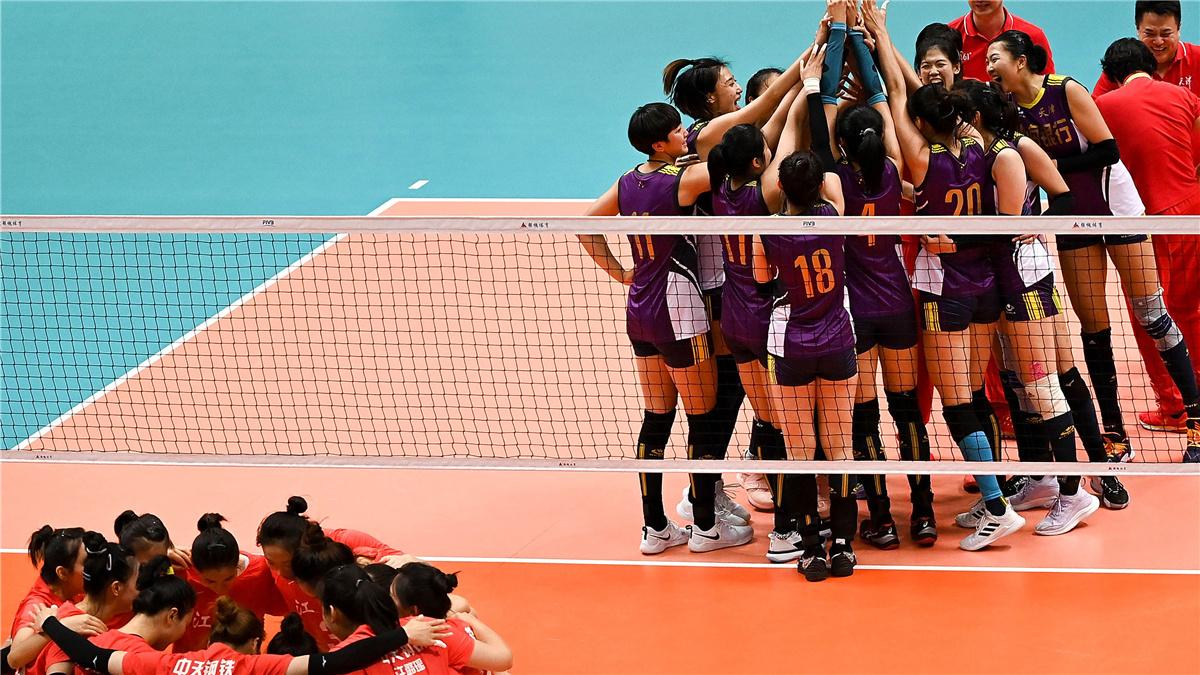 全運會-排球——女子成年組決賽:天津隊奪冠