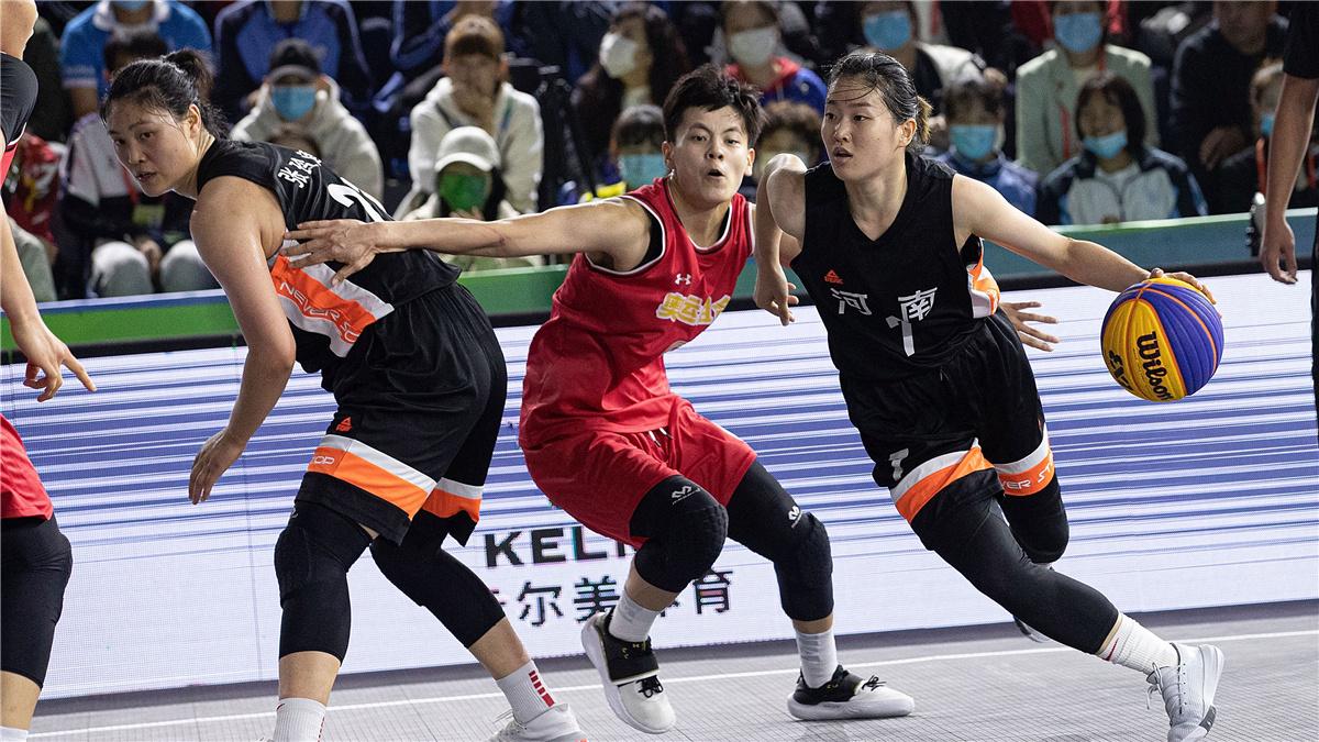 全運會-三人籃球女子成年組決賽:聯合隊奪冠