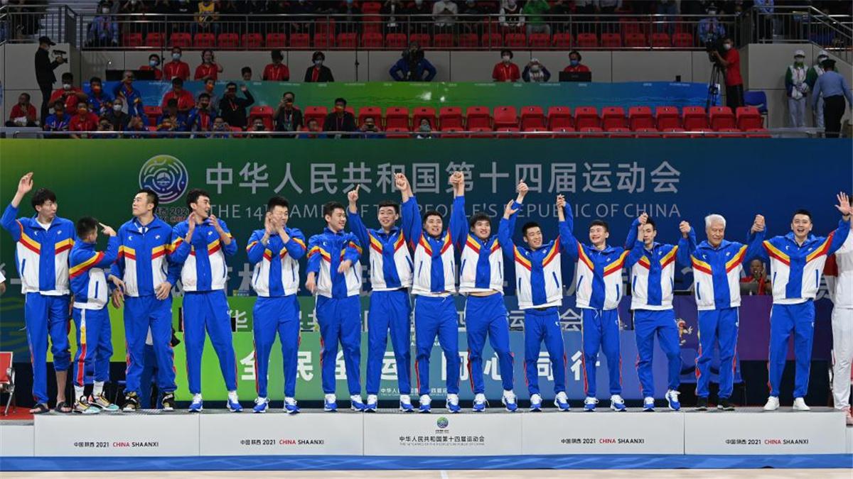 全運會-五人制籃球男子22歲以下組決賽:遼寧隊奪冠