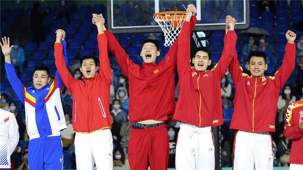 全運會-三人制籃球男子成年組決賽:聯合隊獲得冠軍