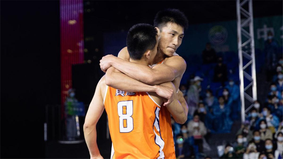 全運會-三人籃球男子成年組:上海隊獲得銅牌