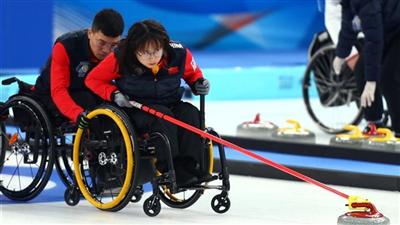 走近冬奧|中國輪椅冰壺隊一日雙勝登上榜首