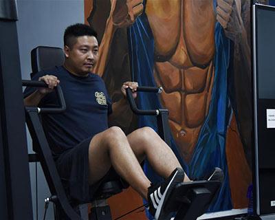 """""""三分鐘就能到健身房""""——探訪貴州首家24小時智能健身房"""