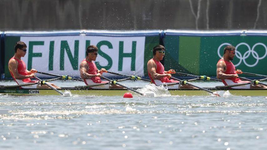 賽艇綜合消息:張亮、劉治宇晉級男子雙人雙槳決賽
