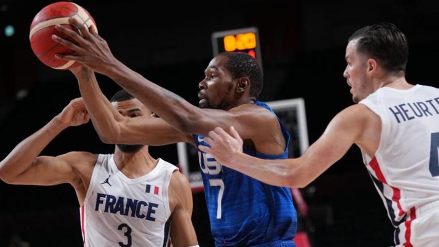 美國男籃首戰輸法國
