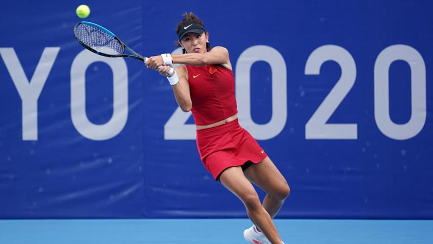 網球女子單打:王薔不敵穆古拉扎