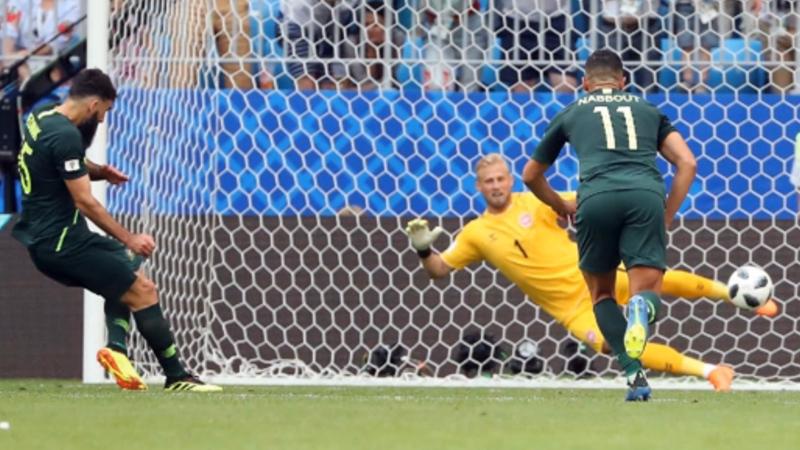 丹麦vs澳大利亚比赛集锦