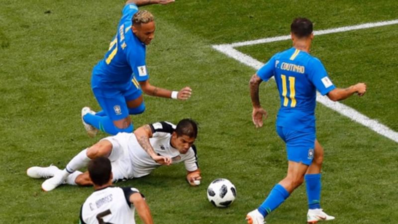 巴西vs哥斯达黎加精彩过人集锦